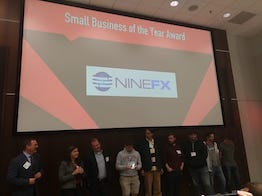 USC/Columbia Technology Incubator's Small Business of the Year